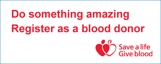 Blood donor logo