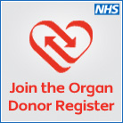Organ donor register logo