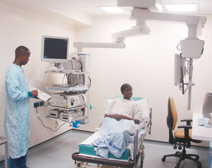 A £1.4 million refurbishment of the Endoscopy Diagnostics Unit to provide state of the art equipment.