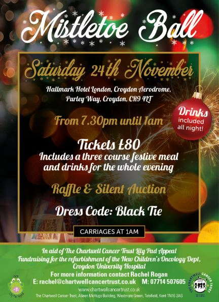 Mistletoe Ball flyer