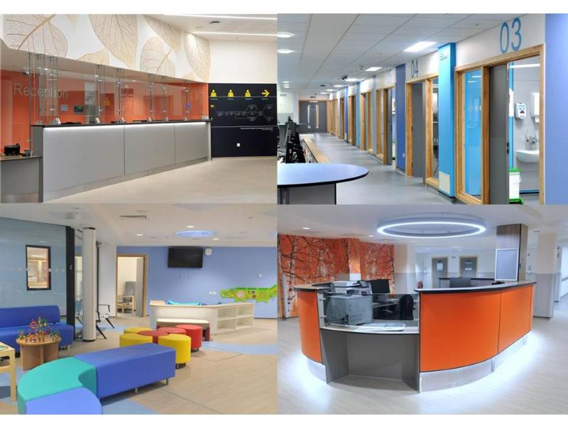 Images of inside our new Emergency Department