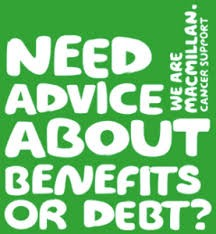Macmillan benefit advice